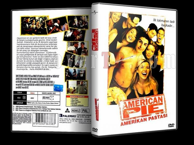 American Pie Collection - Custom Dvd Cover Set - Türkçe [1999-2012]-american-pie-collection-1-dvd-coverjpg