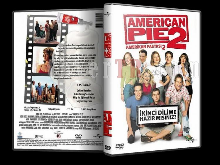 American Pie Collection - Custom Dvd Cover Set - Türkçe [1999-2012]-american-pie-collection-2-dvd-coverjpg