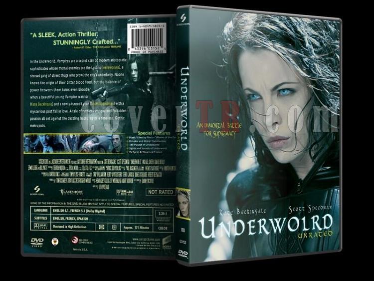 Underworld (Karanlıklar Ülkesi) - Custom Dvd Cover Set - English [2003-2009]-underworld-dvd-coverjpg