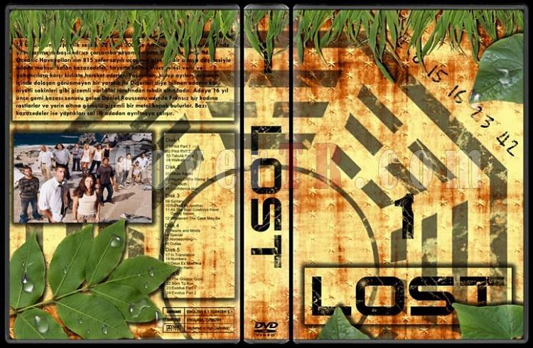 Lost (Seasons 1-6) - Custom Dvd Cover Set - Türkçe [2004-2010]-lost-1jpg