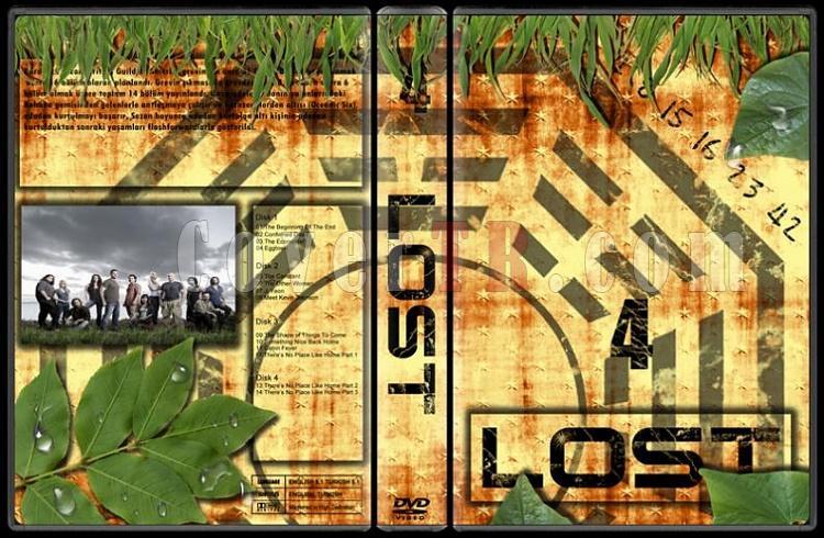 Lost (Seasons 1-6) - Custom Dvd Cover Set - Türkçe [2004-2010]-lost-4jpg