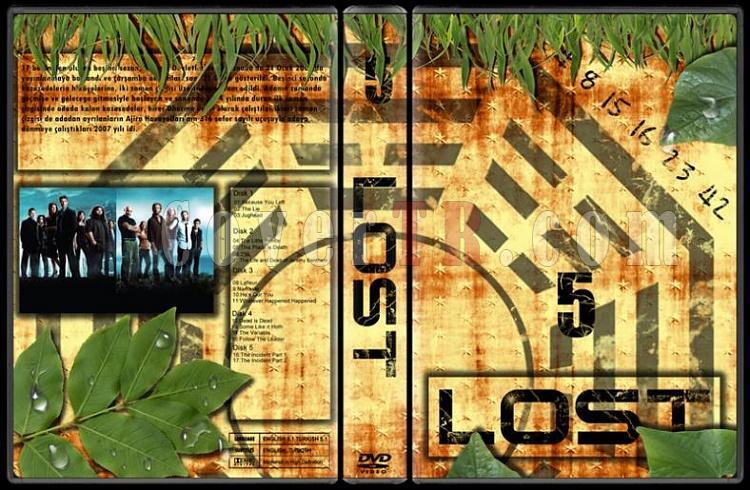 Lost (Seasons 1-6) - Custom Dvd Cover Set - Türkçe [2004-2010]-lost-5jpg