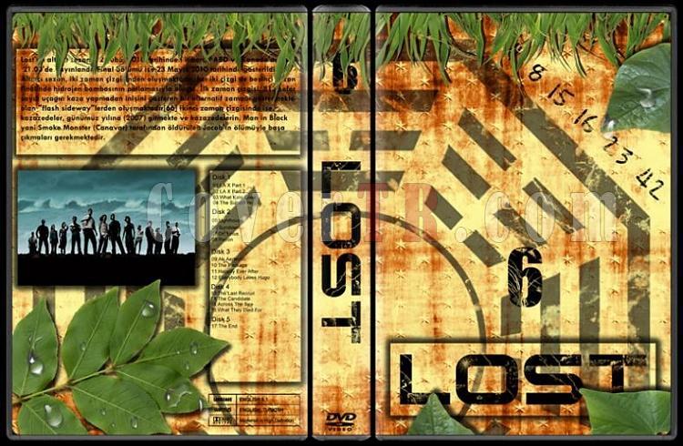 Lost (Seasons 1-6) - Custom Dvd Cover Set - Türkçe [2004-2010]-lost-6jpg