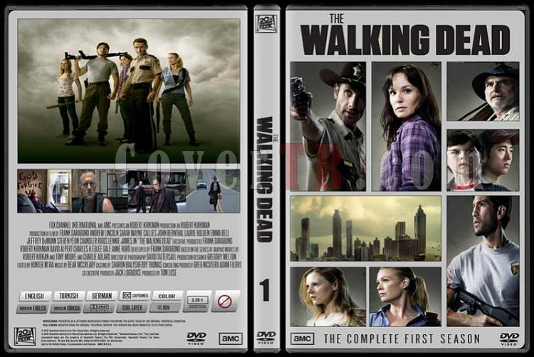 The Walking Dead (Yürüyen Ölüler) - Custom Dvd Cover Set - English-standardjpg