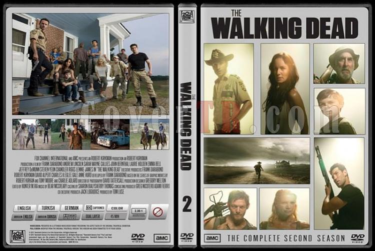 The Walking Dead (Yürüyen Ölüler) - Custom Dvd Cover Set - English-standard-2jpg