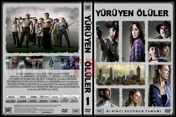 The Walking Dead (Yürüyen Ölüler) - Custom Dvd Cover Set - Türkçe-yuruyen-oluler-sezon-1jpg