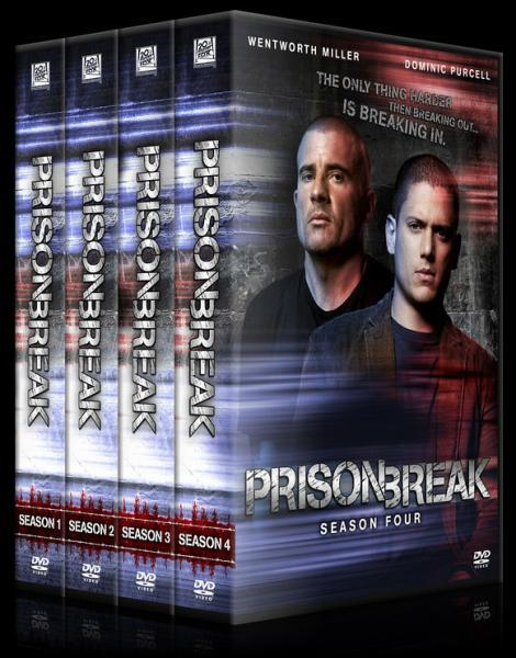 Prison Break (Season 1-4) - Custom Dvd Cover Set - English [2005-2009]-11122-20011544566jpg