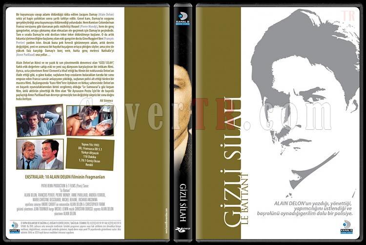 Alain Delon Collection 2 - Scan Dvd Cover Set - Türkçe-gizlijpg