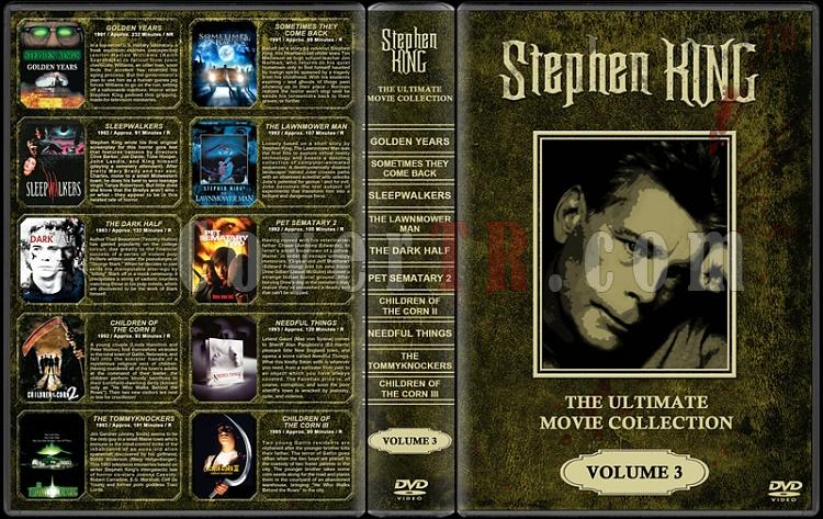 Stephen King (Ultimate Movie Collection) - Custom Dvd Cover Set - English [1976-2011]-stephen-king-ultimate-movie-collection-3jpg