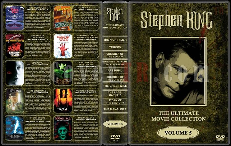 Stephen King (Ultimate Movie Collection) - Custom Dvd Cover Set - English [1976-2011]-stephen-king-ultimate-movie-collection-5jpg