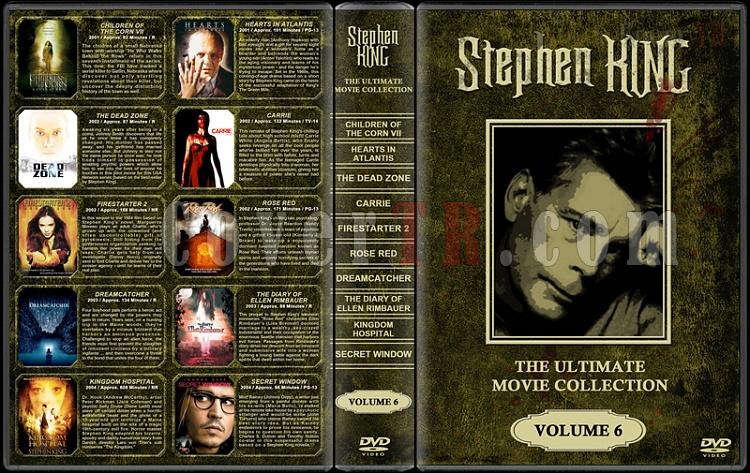 Stephen King (Ultimate Movie Collection) - Custom Dvd Cover Set - English [1976-2011]-stephen-king-ultimate-movie-collection-6jpg