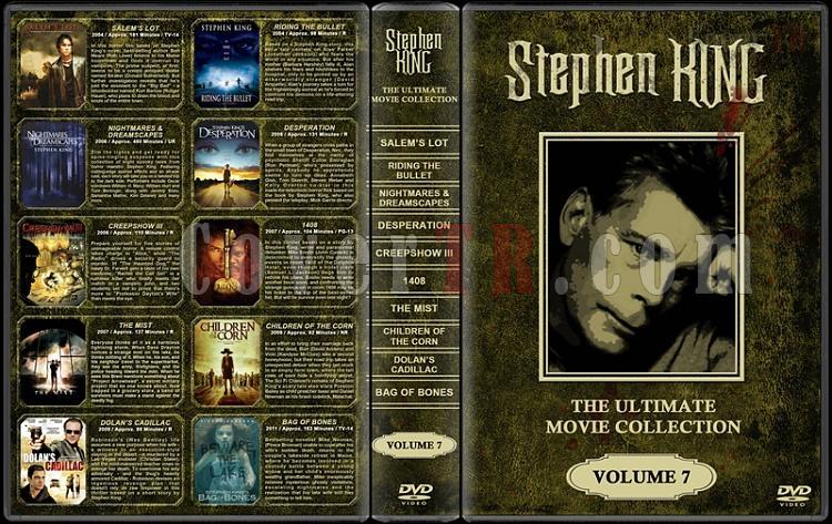 Stephen King (Ultimate Movie Collection) - Custom Dvd Cover Set - English [1976-2011]-stephen-king-ultimate-movie-collection-7jpg