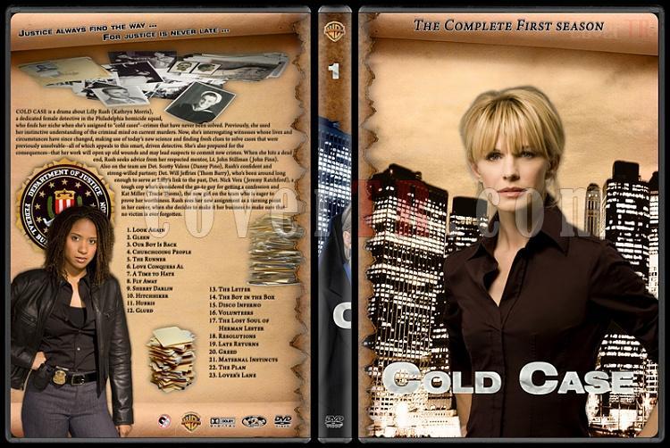 Cold Case (Season 1-7) - Custom Dvd Cover Set - English [2003-2010]-cold-case-season-1jpg