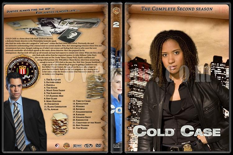 Cold Case (Season 1-7) - Custom Dvd Cover Set - English [2003-2010]-cold-case-season-2jpg