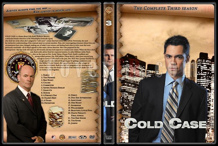 Cold Case (Season 1-7) - Custom Dvd Cover Set - English [2003-2010]-cold-case-season-3jpg