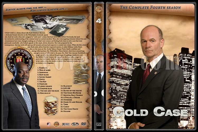 Cold Case (Season 1-7) - Custom Dvd Cover Set - English [2003-2010]-cold-case-season-4jpg