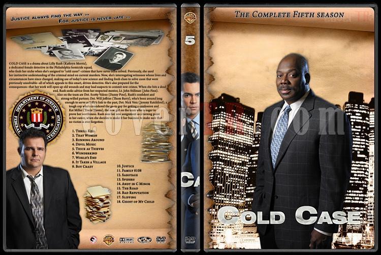 Cold Case (Season 1-7) - Custom Dvd Cover Set - English [2003-2010]-cold-case-season-5jpg