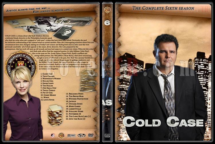 Cold Case (Season 1-7) - Custom Dvd Cover Set - English [2003-2010]-cold-case-season-6jpg