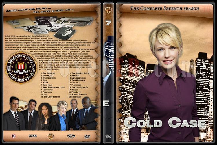 Cold Case (Season 1-7) - Custom Dvd Cover Set - English [2003-2010]-cold-case-season-7jpg