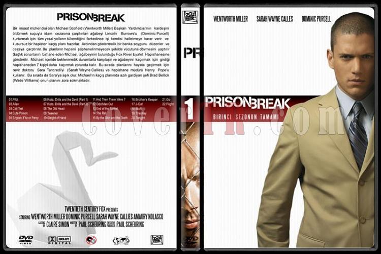 Prison Break (Seasons 1-4) - Custom Dvd Cover Set - Türkçe [2005-2009]-1jpg