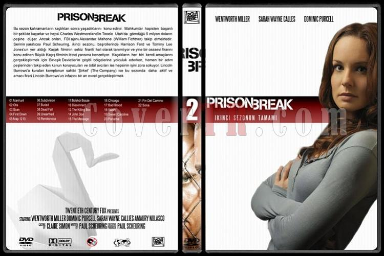 Prison Break (Seasons 1-4) - Custom Dvd Cover Set - Türkçe [2005-2009]-2jpg