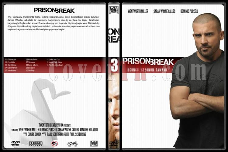 Prison Break (Seasons 1-4) - Custom Dvd Cover Set - Türkçe [2005-2009]-3jpg