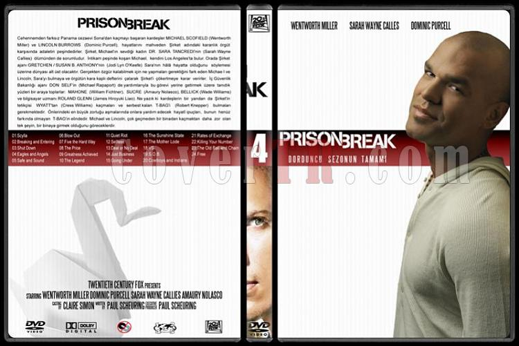 Prison Break (Seasons 1-4) - Custom Dvd Cover Set - Türkçe [2005-2009]-4jpg