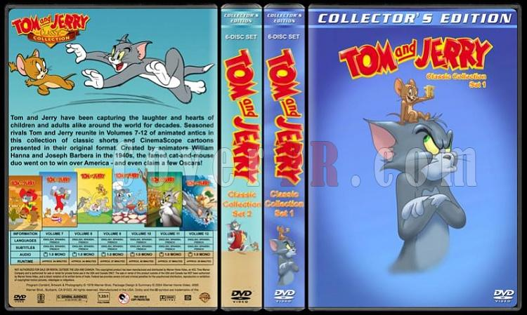 Tom And Jerry Classic Collection - Custom Dvd Cover Set - English-2-season-flatjpg