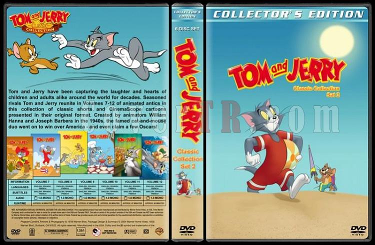 Tom And Jerry Classic Collection - Custom Dvd Cover Set - English-02jpg