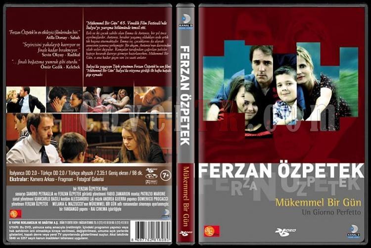Ferzan Özpetek Koleksiyonu - Scan Dvd Cover Set - Türkçe-mukemmel-bir-gunpjpg