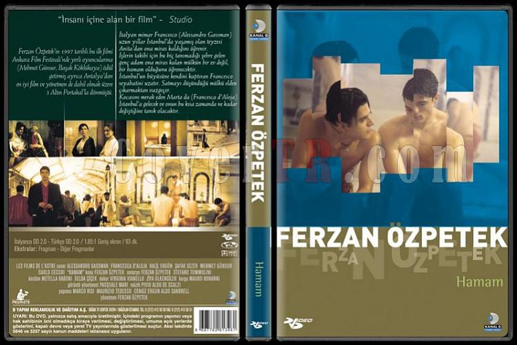 Ferzan Özpetek Koleksiyonu - Scan Dvd Cover Set - Türkçe-hamampjpg