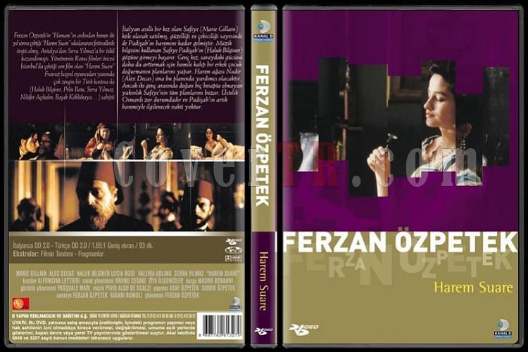 Ferzan Özpetek Koleksiyonu - Scan Dvd Cover Set - Türkçe-harem-suarepjpg