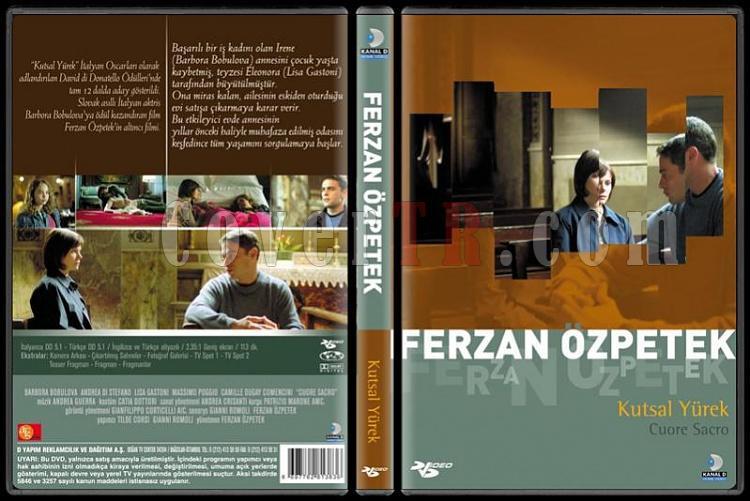 Ferzan Özpetek Koleksiyonu - Scan Dvd Cover Set - Türkçe-kutsal-yurekpjpg