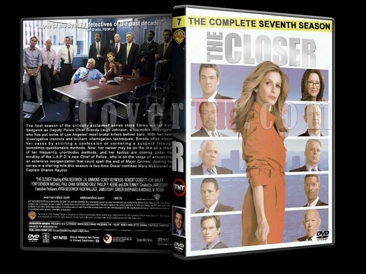 The Closer (Season 1-7) - Custom Dvd Cover Set - English [2005-2012]-closer-season-7-dvd-coverjpg