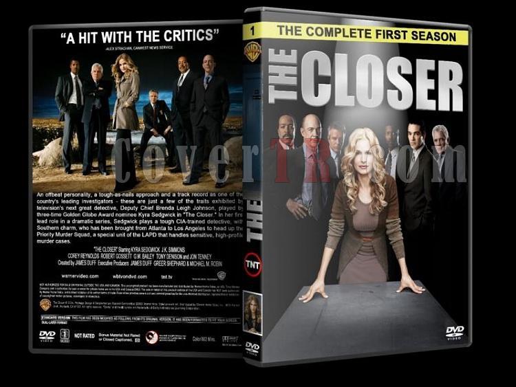 The Closer (Season 1-7) - Custom Dvd Cover Set - English [2005-2012]-closer-season-1-dvd-coverjpg