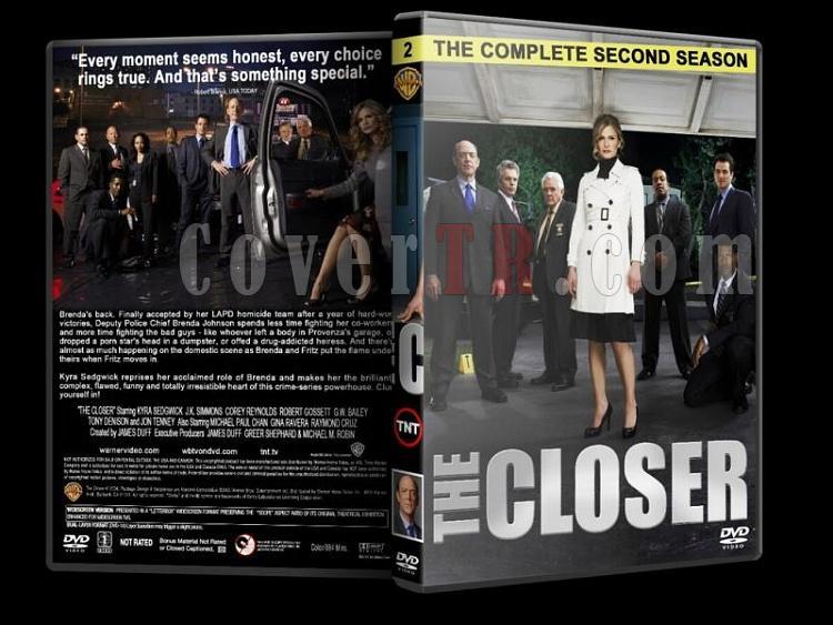 The Closer (Season 1-7) - Custom Dvd Cover Set - English [2005-2012]-closer-season-2-dvd-coverjpg