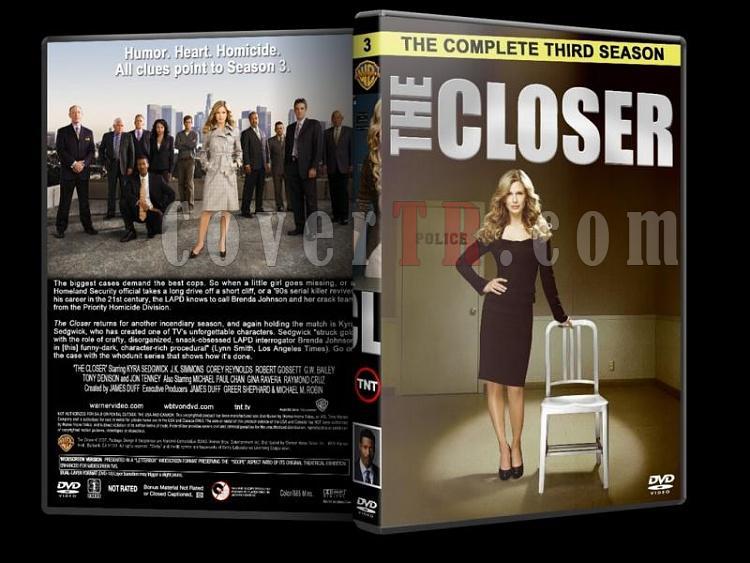 The Closer (Season 1-7) - Custom Dvd Cover Set - English [2005-2012]-closer-season-3-dvd-coverjpg