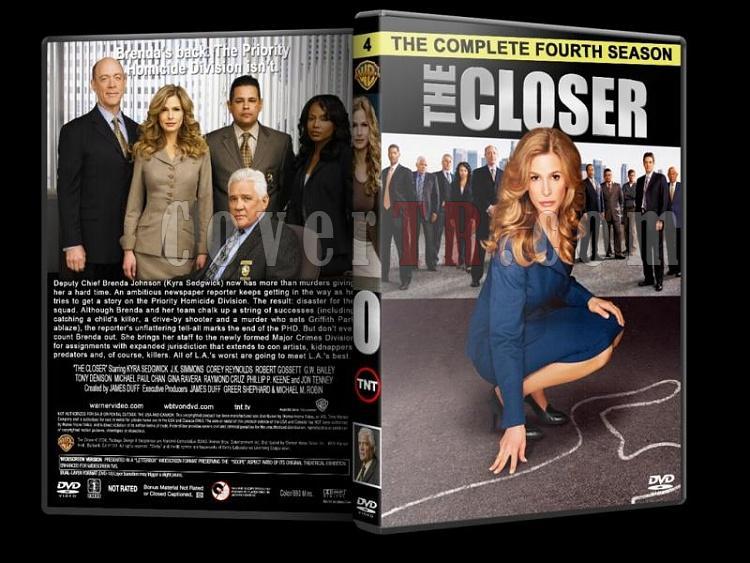 The Closer (Season 1-7) - Custom Dvd Cover Set - English [2005-2012]-closer-season-4-dvd-coverjpg