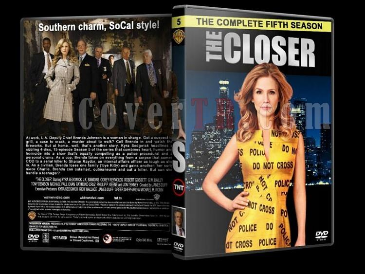 The Closer (Season 1-7) - Custom Dvd Cover Set - English [2005-2012]-closer-season-5-dvd-coverjpg