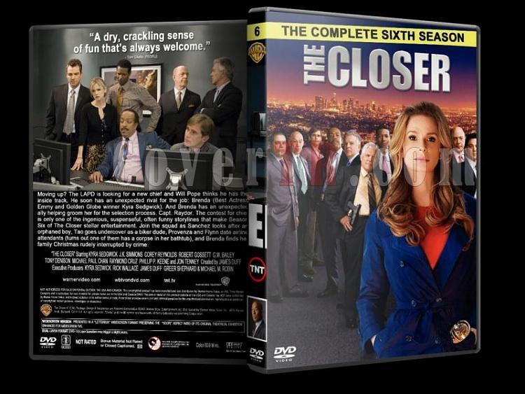 The Closer (Season 1-7) - Custom Dvd Cover Set - English [2005-2012]-closer-season-6-dvd-coverjpg