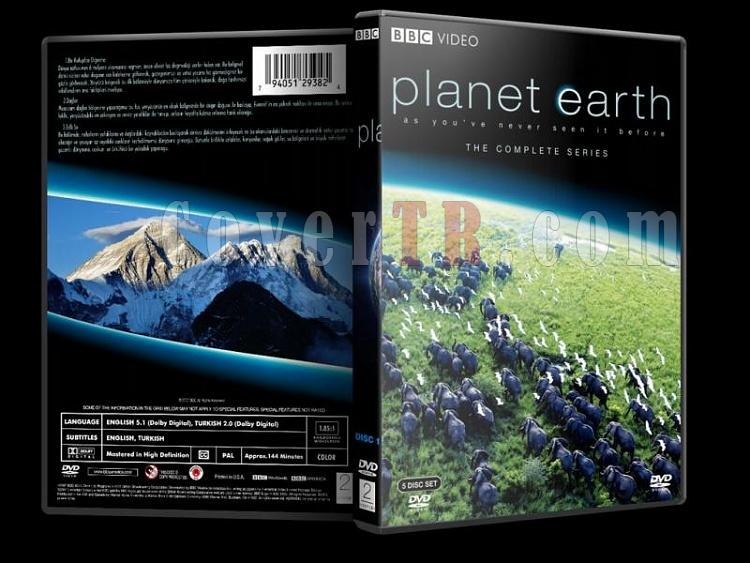 Planet Earth (Yeryüzü) Collection - Custom Dvd Cover - Türkçe [2006]-planet-earth-collection-1-dvd-coverjpg