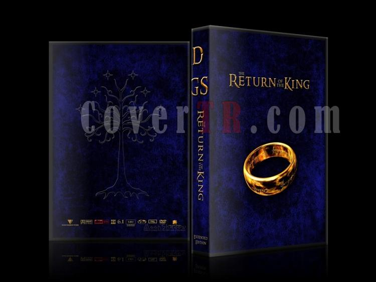 Lord of the Rings (Yüzüklerin Efendisi) - Custom Dvd Cover Set - English-return-kingjpg