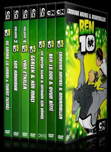 Ben 10 - Scan Dvd Cover Set - Türkçe [2005]-b10setjpg
