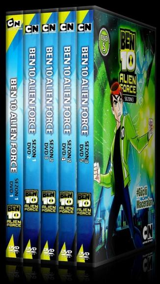 Ben 10 Alien Force  - Scan Dvd Cover Set - Türkçe [2008]-b10af-setjpg