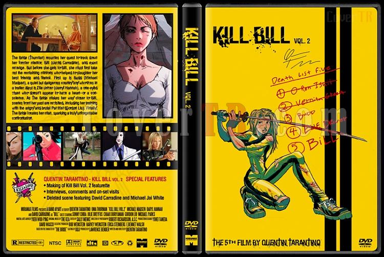 Kill Bill - Custom Dvd Cover Set - English [2003-2004]-kill-bill-volume-2-dvd-coverjpg