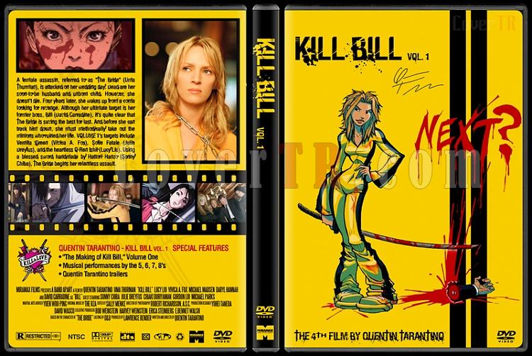 Kill Bill - Custom Dvd Cover Set - English [2003-2004]-kill-bill-volume-1-dvd-coverjpg