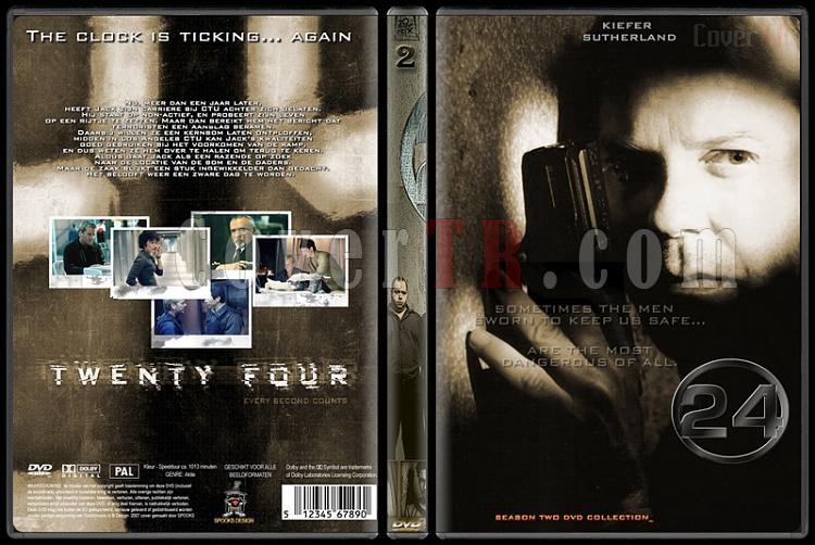 24 (Seasons 1-8) - Custom Dvd Cover Set - English [2001-2010]-24-season-2-dvd-coverjpg