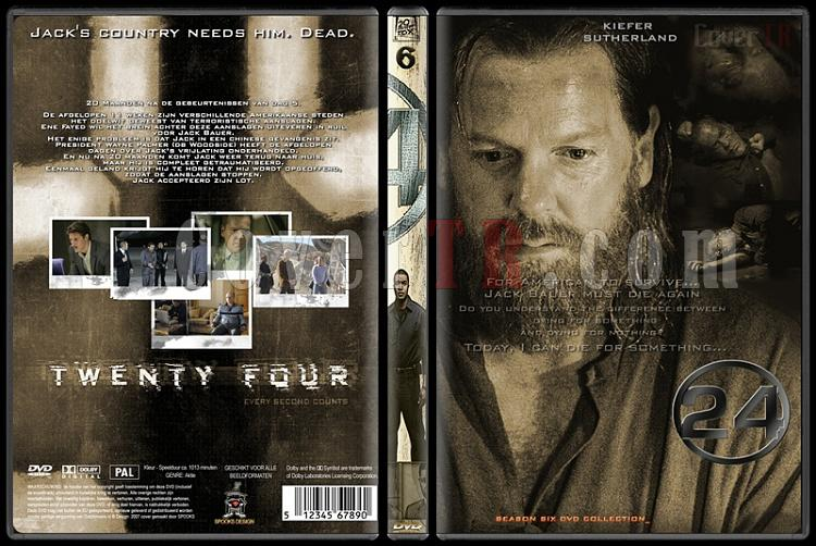 24 (Seasons 1-8) - Custom Dvd Cover Set - English [2001-2010