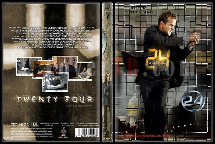 24 (Seasons 1-8) - Custom Dvd Cover Set - English [2001-2010]-24-season-7-dvd-coverjpg
