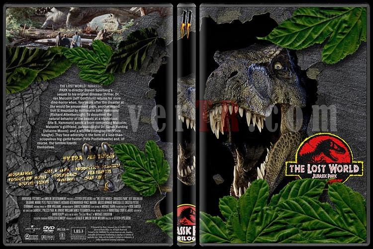 Jurassic Park (Trilogy) - Custom Dvd Cover Set - English [1993-2001]-jurassic-park-2-dvd-coverjpg